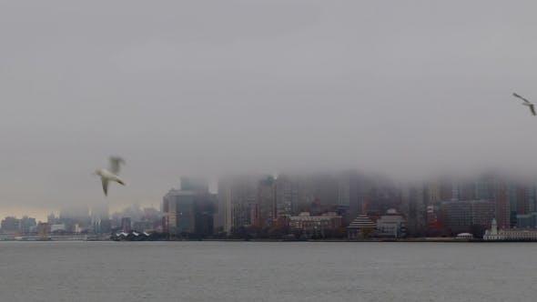 Thumbnail for Thick Fog over Manhattan