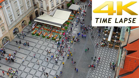Thumbnail for View of Prague, Old Town Square, Czech Republic
