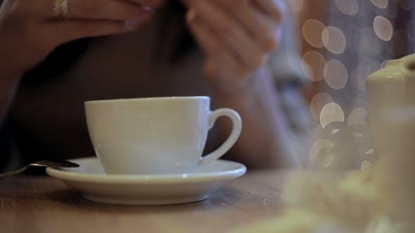Thumbnail for Girl Pours Sugar Batched In The Cup