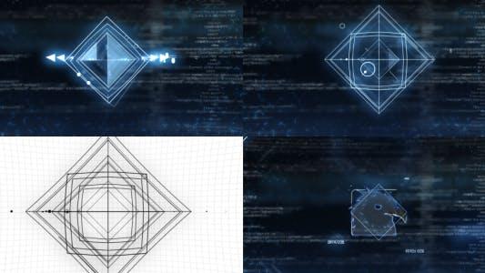 Thumbnail for SCI-FI Shapes Logo Reveal