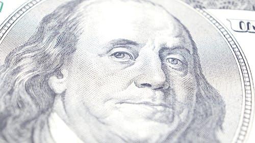 Benjamin Franklin Portrait on US Dollar