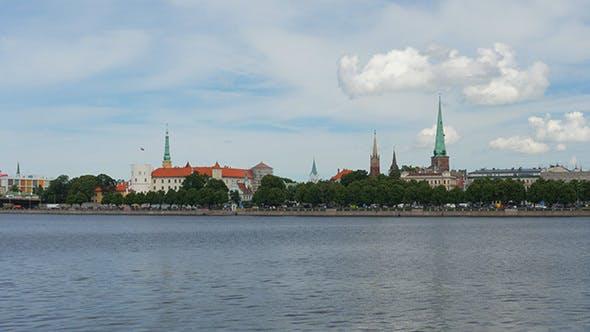 Thumbnail for Riga Old City Center View, Latvia