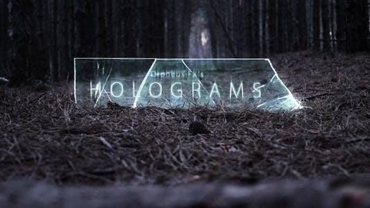Holograms - Titles Opener