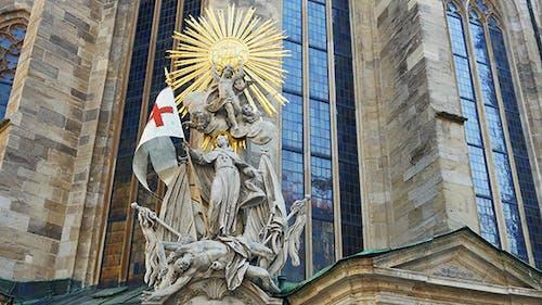 Death Janissary Skulptur, Wiener Belagerungsdenkmal, Österreich