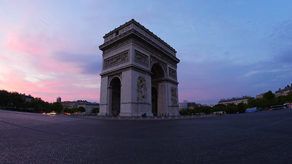 Cover Image for Arc de Triomphe at Champs Elysees, Paris, France