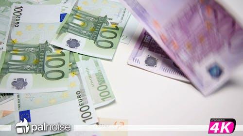 Euro Flugscheine €500, 100, 50