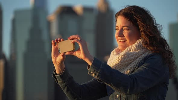 Thumbnail for Woman With Cell Phone