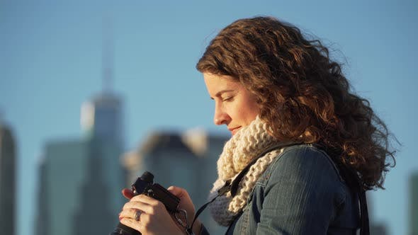 Thumbnail for A Woman With Camera 4