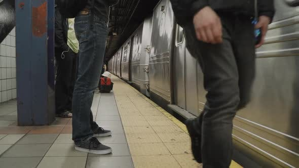 Thumbnail for Views Of Subway Train In Nyc 1