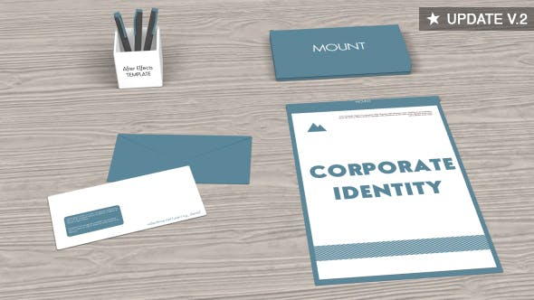 Thumbnail for Corporate Identity Video Mockup