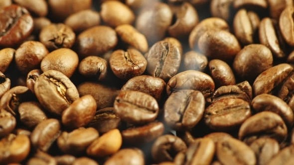 Thumbnail for Background Of The Roasted Coffee Beans