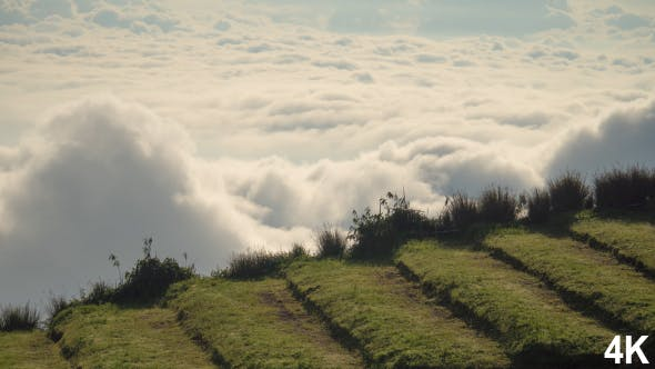 Thumbnail for Clouds Moving On Mountain