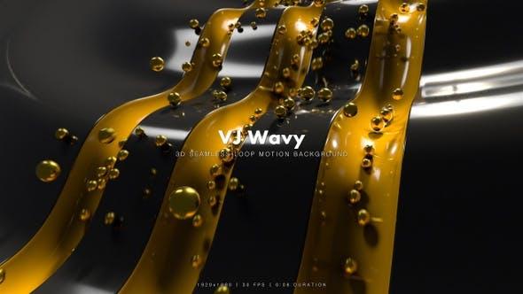 Thumbnail for VJ Wavy Motion 6