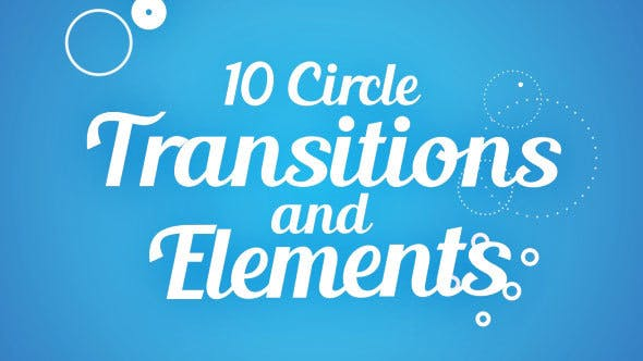Transitions et éléments de cercle