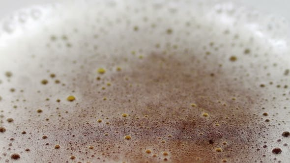 Thumbnail for Beer In a Glass, The Bubbles Of Gas And Foam