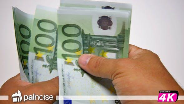 Thumbnail for Euro 100 € Bills Counting