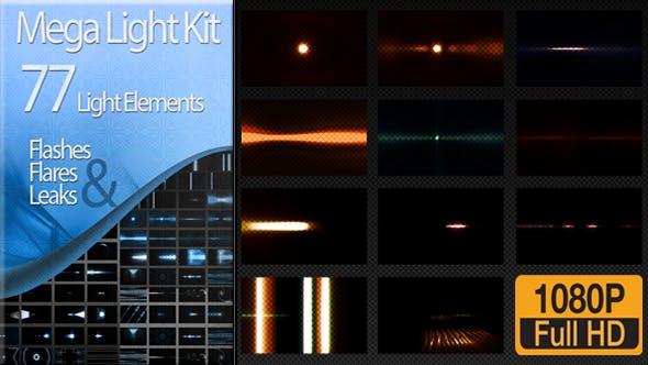 Thumbnail for Editor's Mega Light Kit - 77 Light Elements