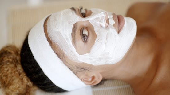 Thumbnail for Woman With Facial Mask At Salon