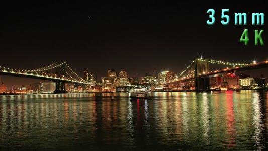 Thumbnail for Brooklyn and Manhattan Bridge New York City