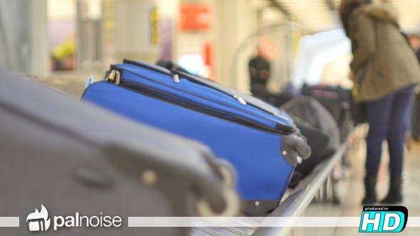 Thumbnail for Baggage Belt Passenger Getting Bag