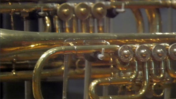 Thumbnail for A Small Tuba in a Horizontal View