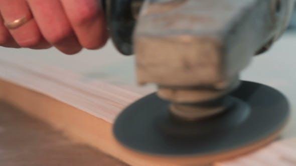 Thumbnail for einer Arbeitsschleifmaschine