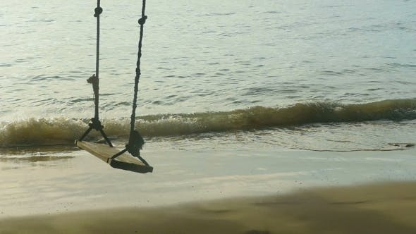 Thumbnail for A Rope Swings On The Beach,