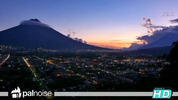 Thumbnail for Antigua Guatemala Volcano Town