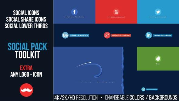 Kit de herramientas para paquetes Social
