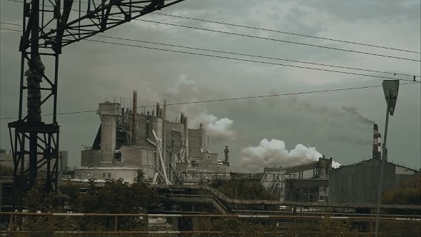 Thumbnail for Smoking Chimneys In The Distance