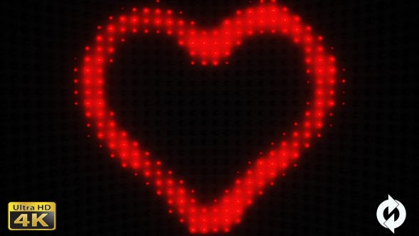 Thumbnail for Heart with Lights VJ - 4
