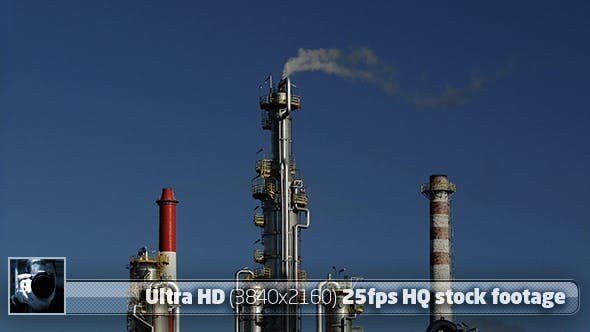 Thumbnail for Oil Refinery 02