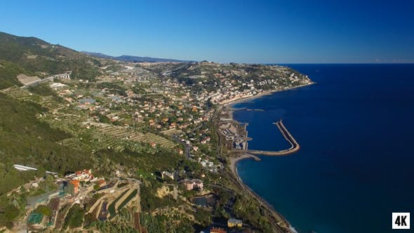 Thumbnail for Coastal City by the Sea