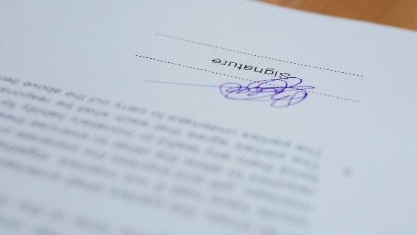 Thumbnail for Signature