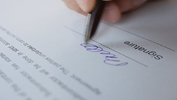 Thumbnail for Signature Document