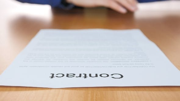 Cover Image for Contract