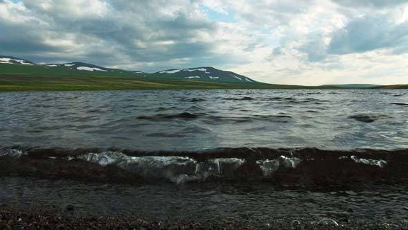 Thumbnail for Lake and Mountains in North