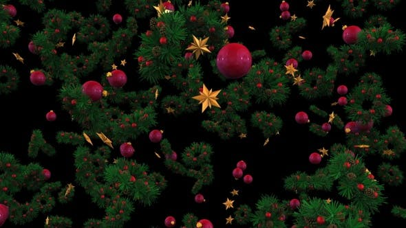 Cover Image for Christmas Decorations Background 02