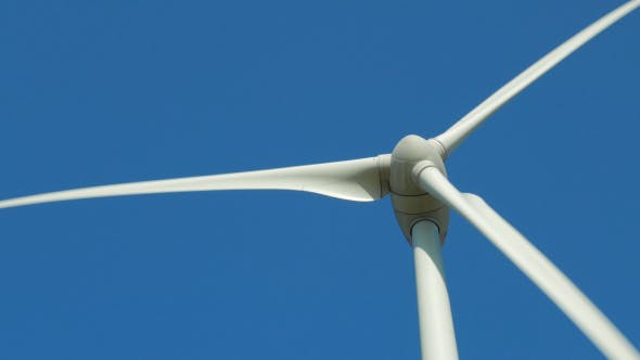 Cover Image for Rotating Propeller Of Wind Power Generator
