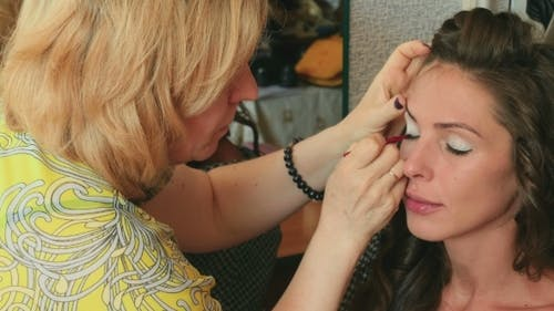 Make-up For Photo Session