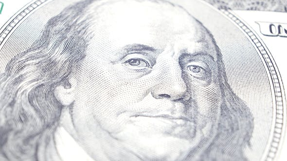 Thumbnail for Benjamin Franklin Portrait On US Dollar