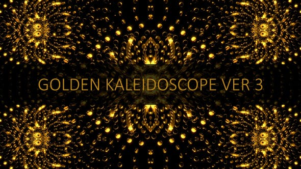 Thumbnail for Golden Kaleidoscope Ver 3