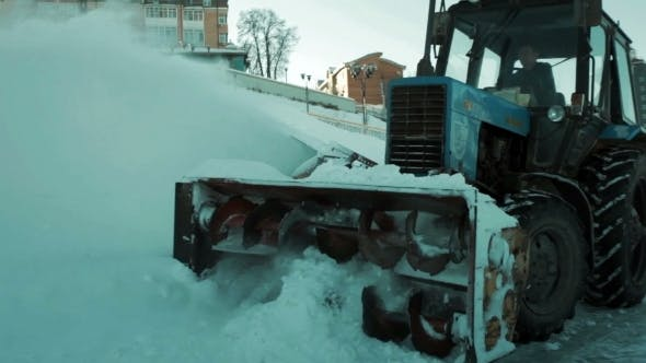 Thumbnail for Snowplow Removes a Lot Of Snow