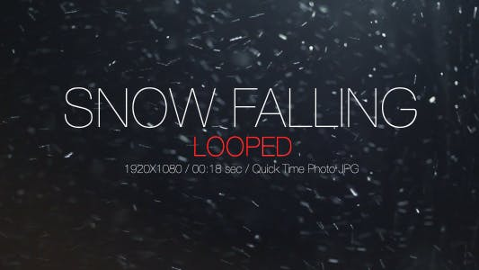 Thumbnail for Snow Falling 2