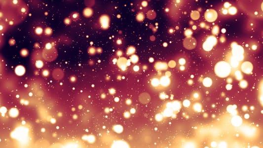 Elegant Glow Particles