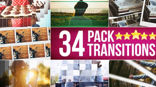 34 Transitions Pack