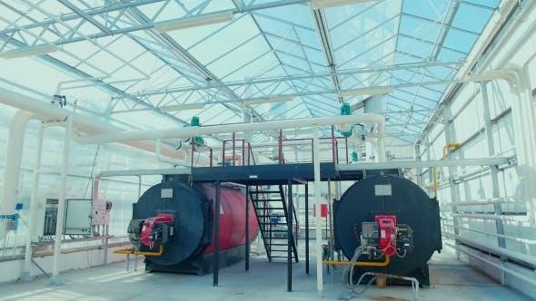 Thumbnail for Modern Boiler Room Equipment For Heating System