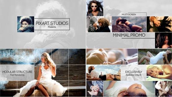 Thumbnail for Minimale Werbeaktion mit mehreren Bildschirmen