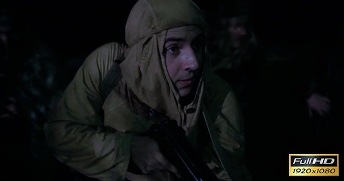 Soldiers Make Reconnaissance Behind Enemy Lines