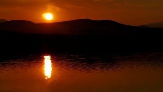 Thumbnail for Sunset over Lake 2